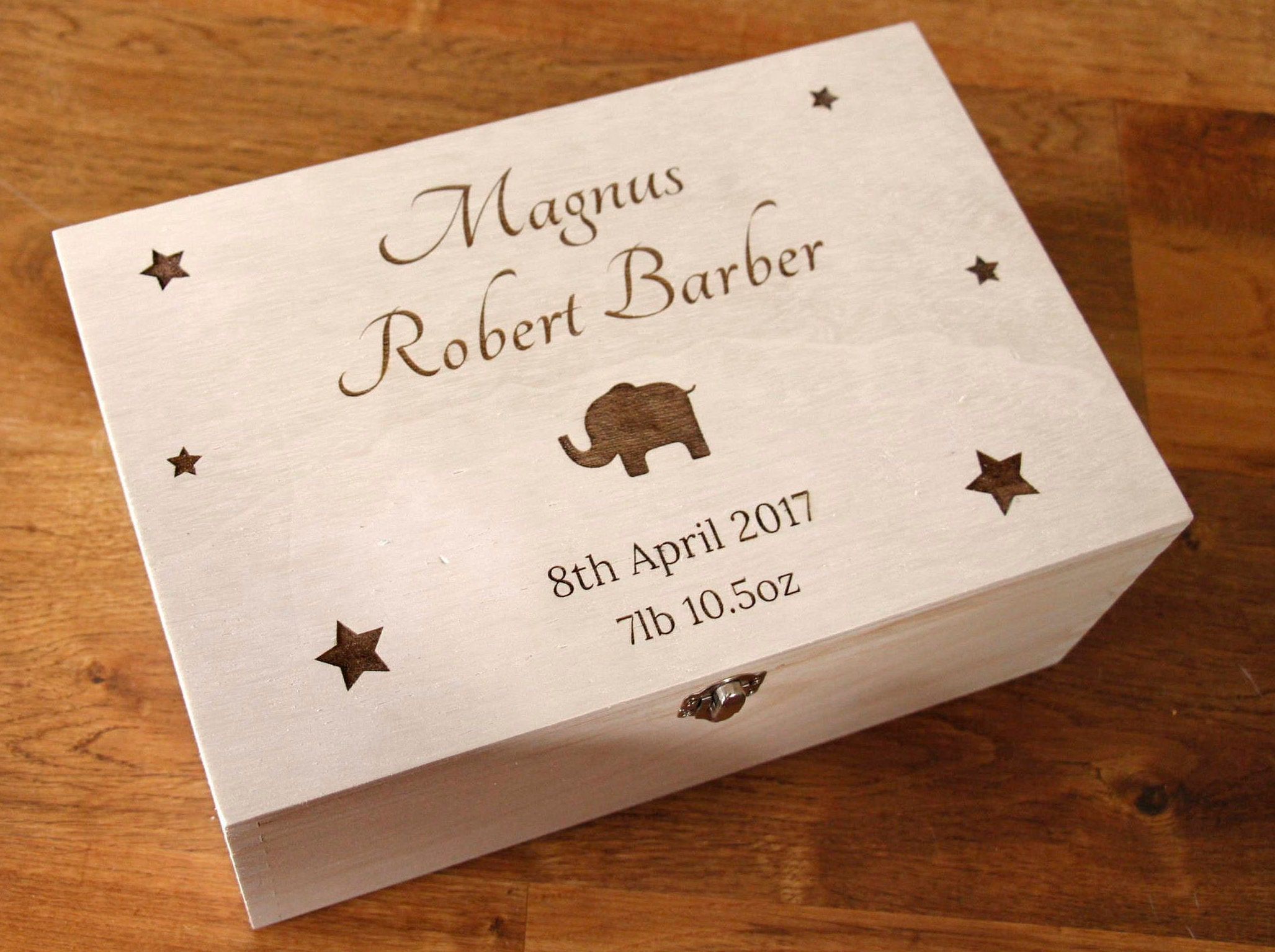 Personalised Baby Memory Box Personalised Baby Keepsake Box Keepsake Box New Baby Gift Gift for New Baby Memory Box Baby GiftNew Baby