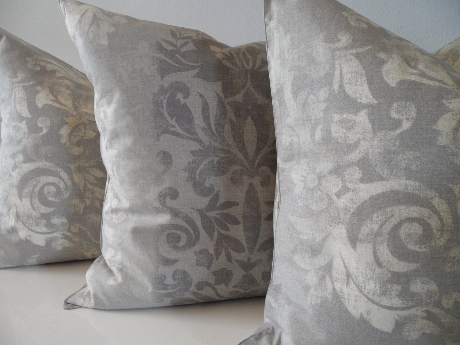 Tahari Home Decorative Pillow : RESERVED FOR SOMEONE ... Designer Tahari Fabric by AtelierCotton
