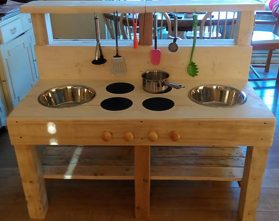 Mud Kitchen Texture Kitchen Childrens outdoor kitchen Wooden Kitchen Early years play kitchen Toy Kitchen Garden Toy.