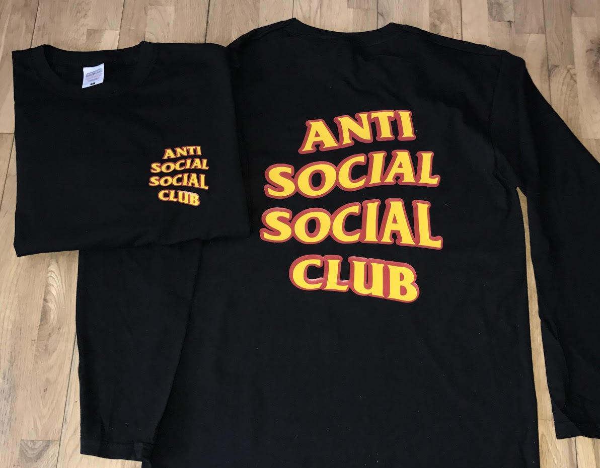 Anti Social Social Club Hoodie  Anti Social Social Club Sweatshirt  Kanye West Hoodie  assc  yeezy hoodie  Yeezus Hoodie  Long Tshirt
