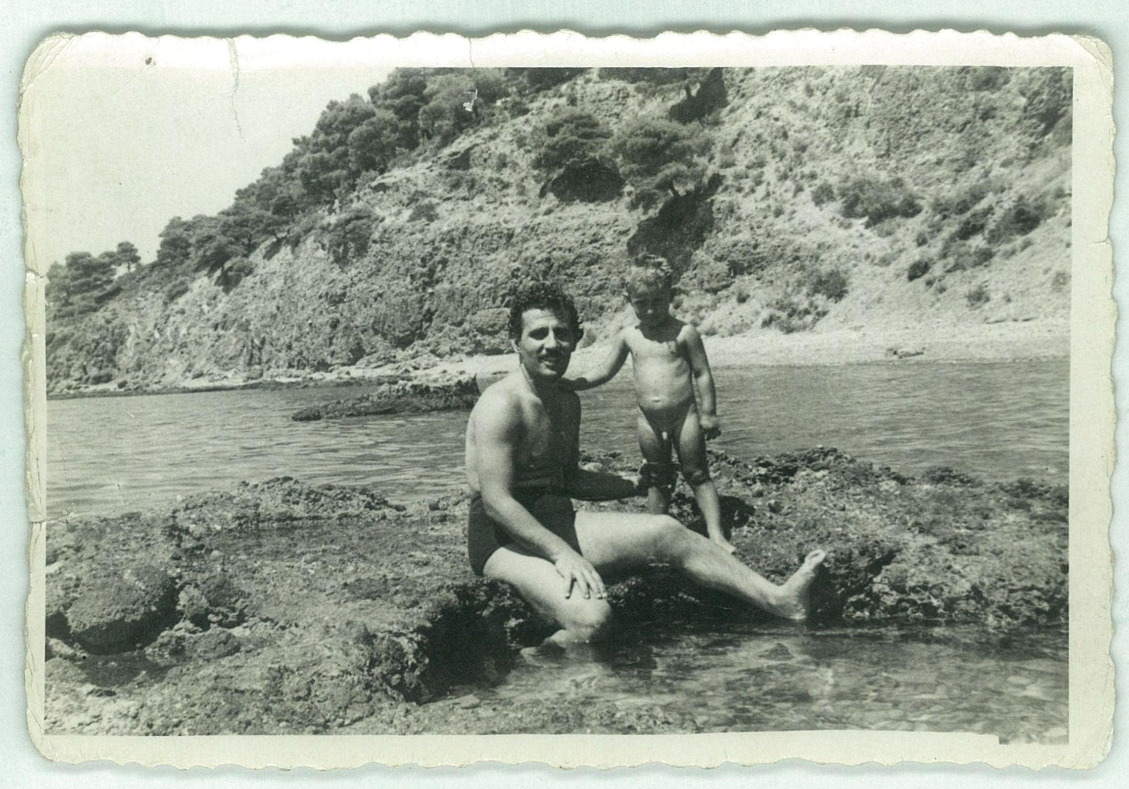 Boy swimming nude | Etsy
