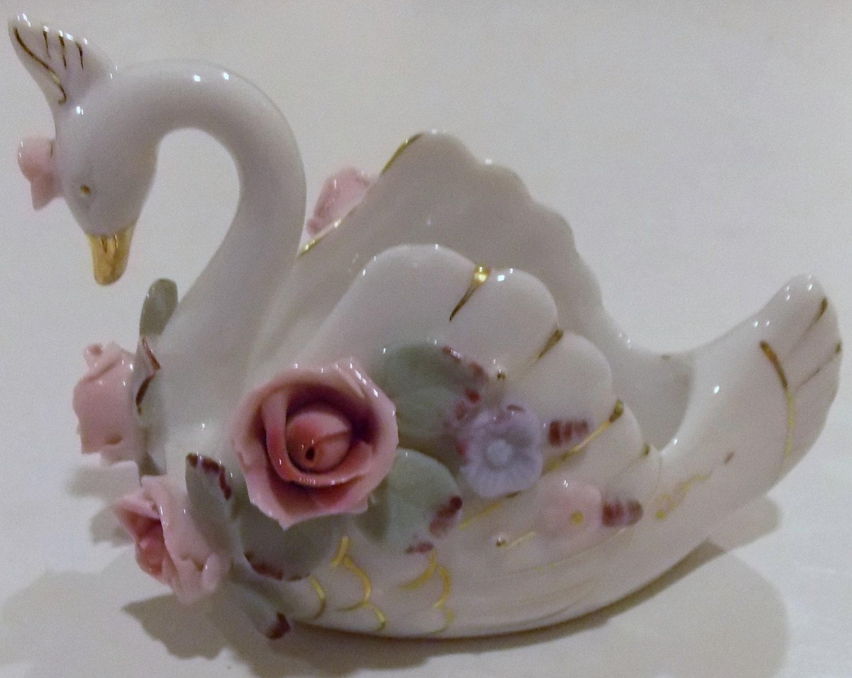 Letton china pintada a mano vintage