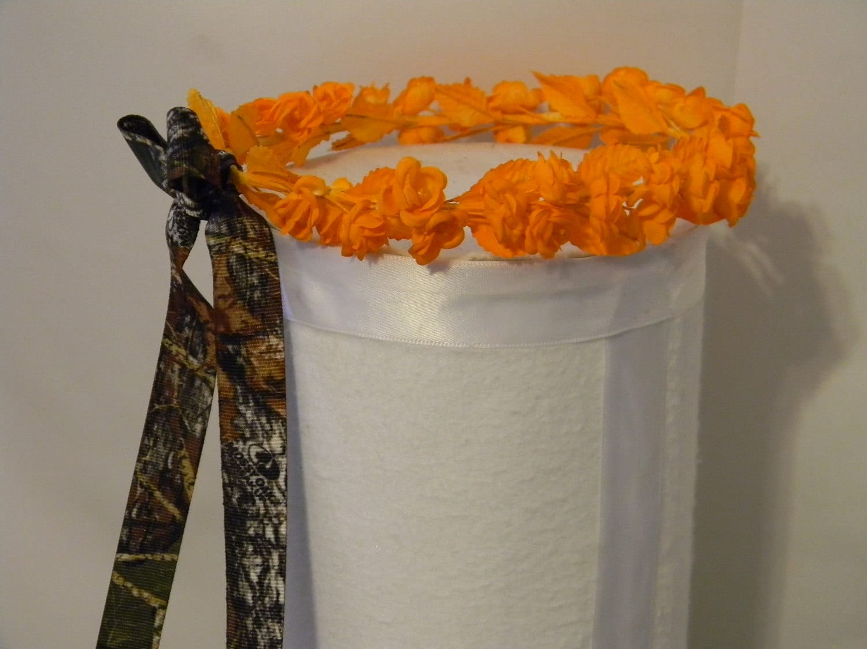 Wedding Flower Girl Halo Wreath Bridesmaid Head Piece Any Color