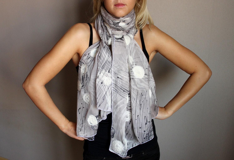 SALE Handmade 100 silk scarf  MEDUSAS  by handmadeineurope Handmade Scarves For Sale Online