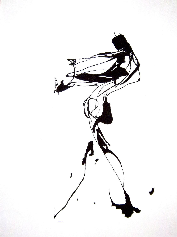 Line Drawing Human Figure : Share