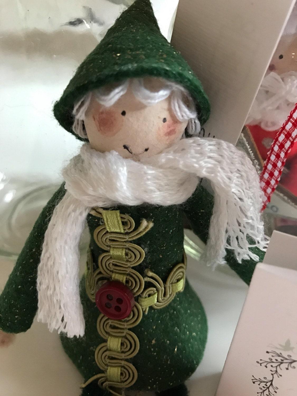 Christmas Elf Santa Fairy and Angel Wishing Fairy Jars