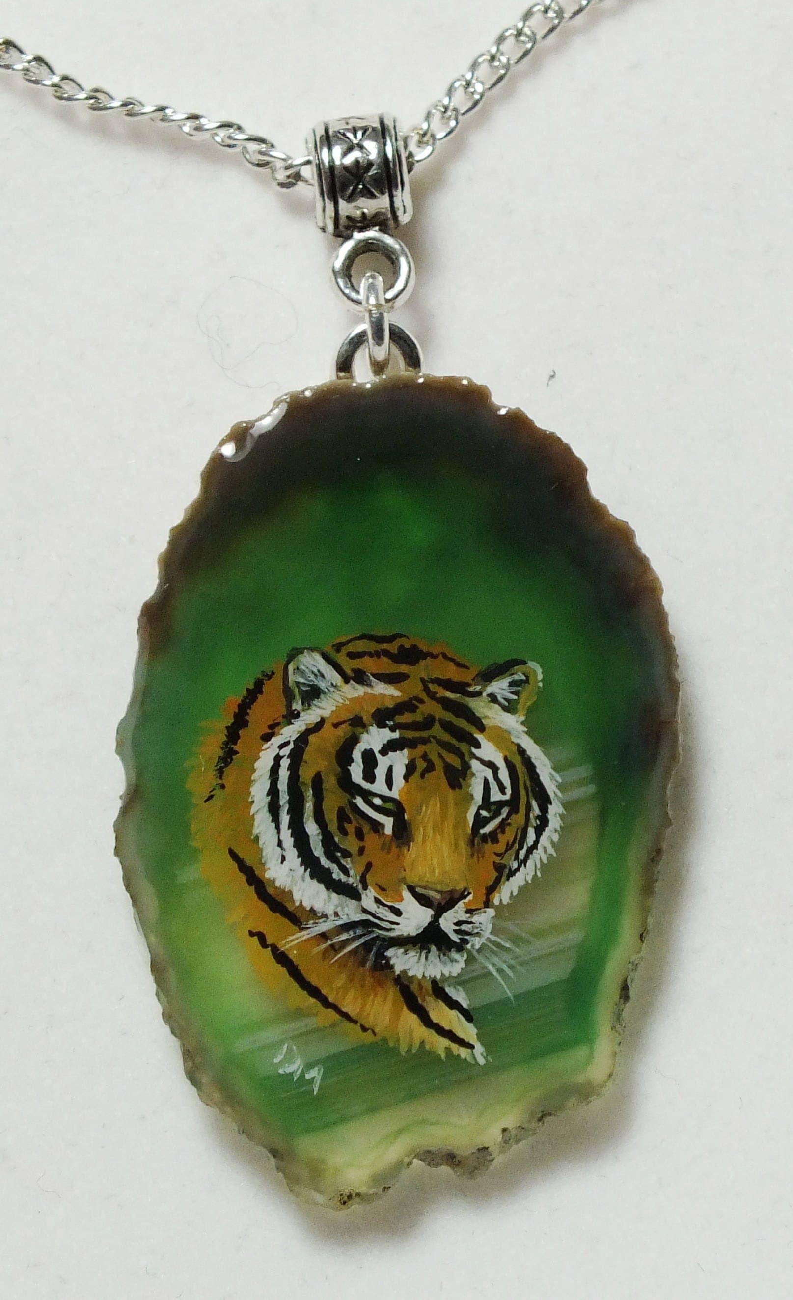 Tiger Agate Pendant