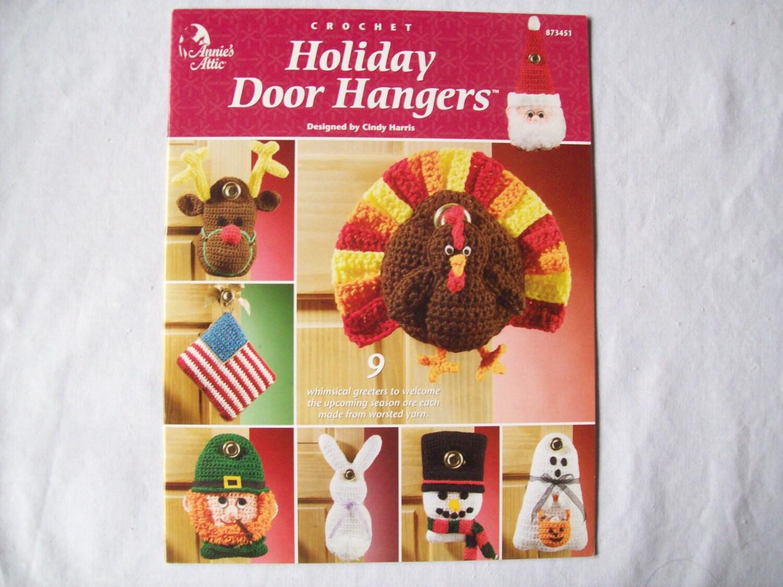 Holiday Door Hangers Crochet Pattern Book By Cozyhomecrochet