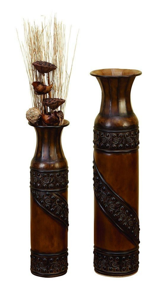 Items Similar To Vases Vases Decorative Glass Vases Tall