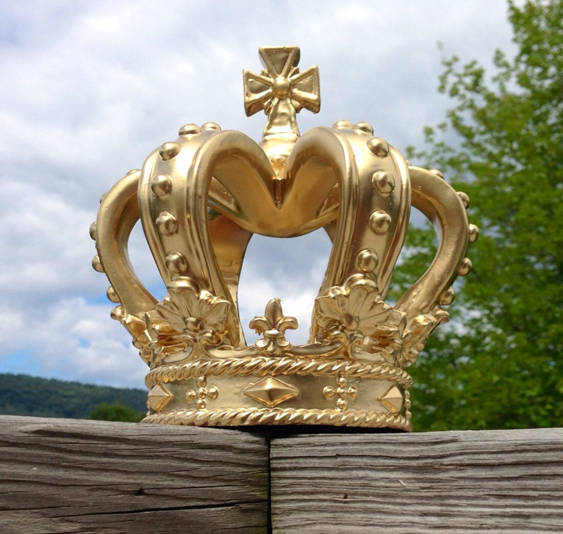 Items Similar To Unique Gold Crown Nursery Decor Baby