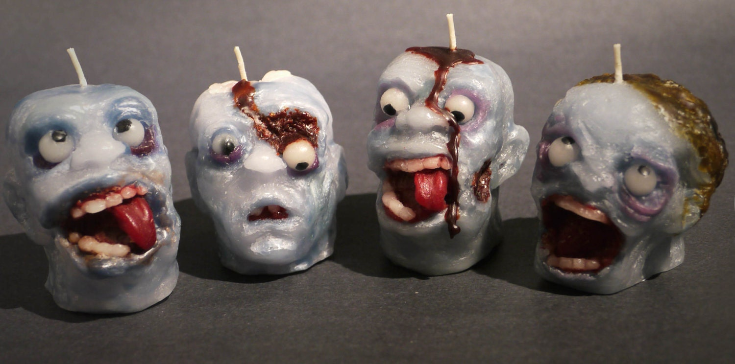 Small Zombie candle
