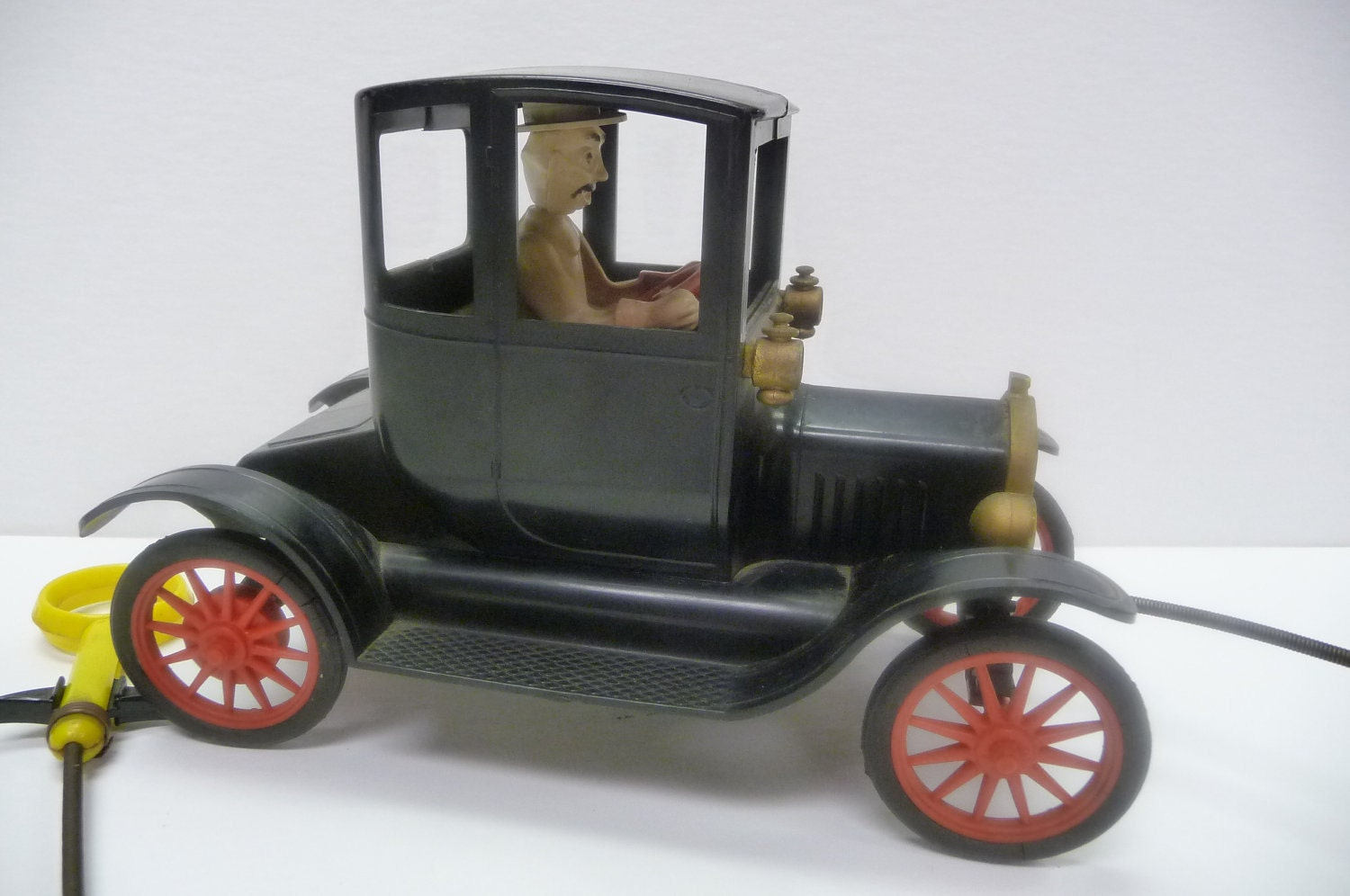 Vintage toy car Old Time Backfiring Ford Working by SalvageRelics