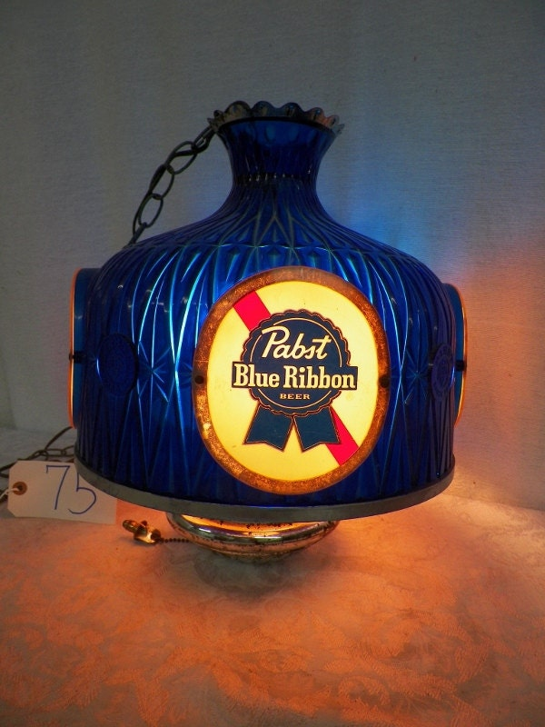 Vintage Pabst Blue Ribbon Hanging Pool Table By