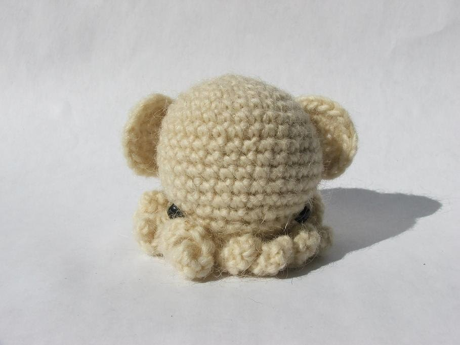 Mini Amigurumi Octopus : Dumbo Octopus Mini Amigurumi Octopus by SquidHead on Etsy