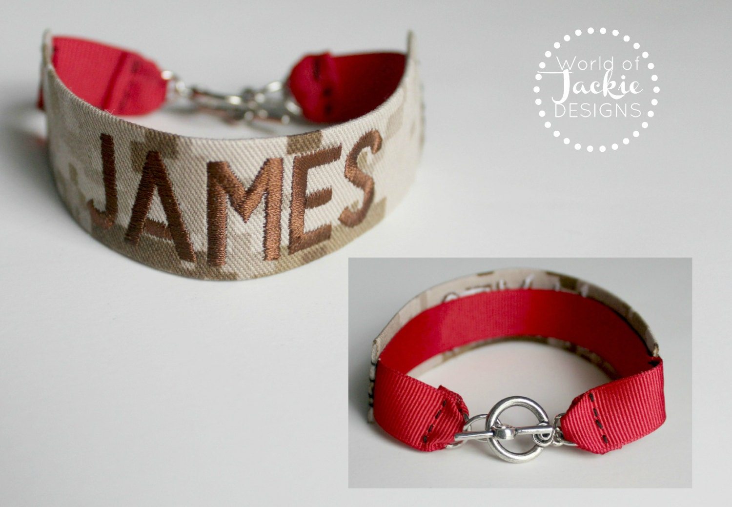 Classic Marine Corps Name Tape Bracelet by ...