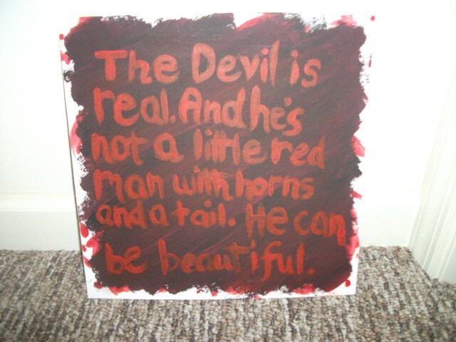 American horror story quote painting tate by foreveryoursvintage