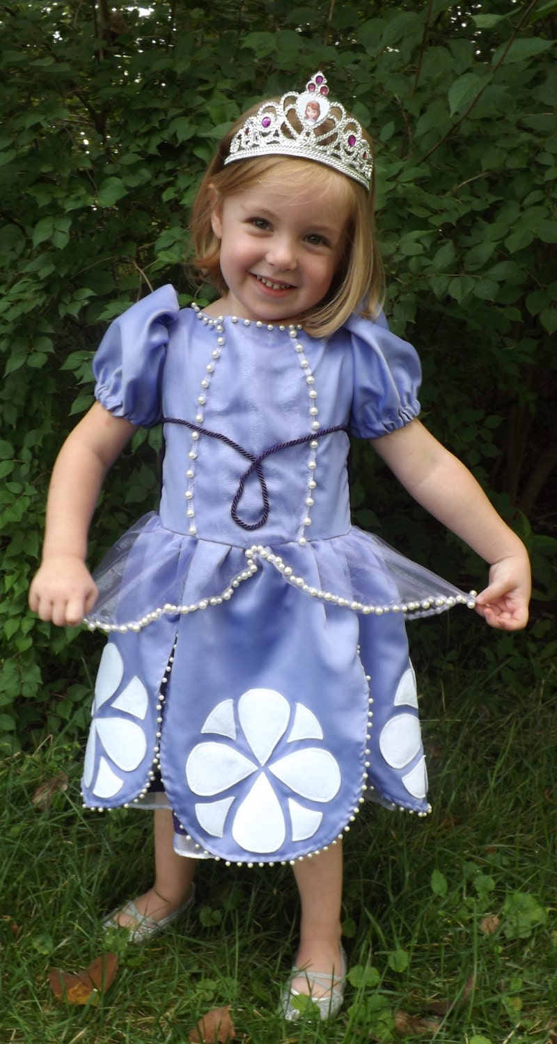 Items Similar To Sofia The First Costume Dress Pdf Pattern