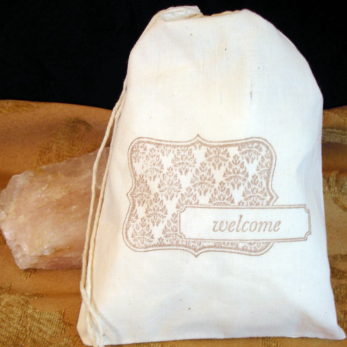 Welcome Party Favor Gift Wedding Bags Cotton By LindaFulghum