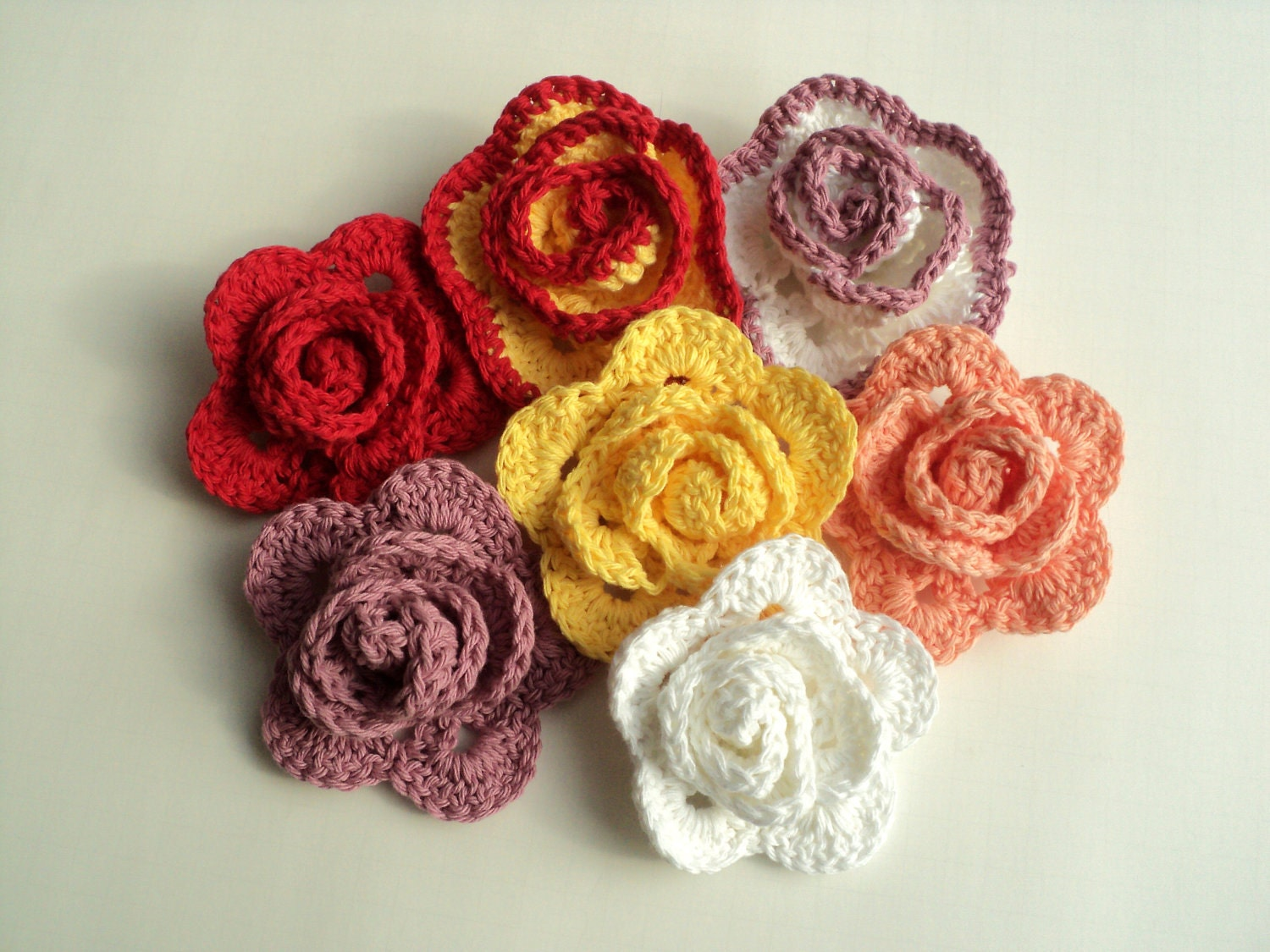 Just Roses CROCHET Tutorial Pattern ONLY by Lifeinsmallspaces