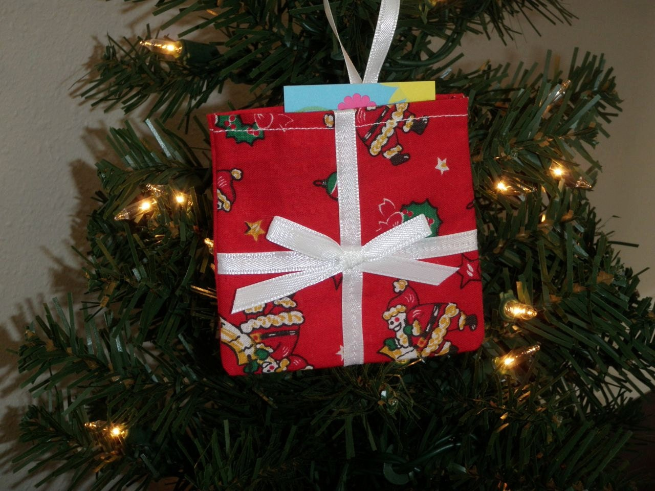 Gift Card Tree Ornament
