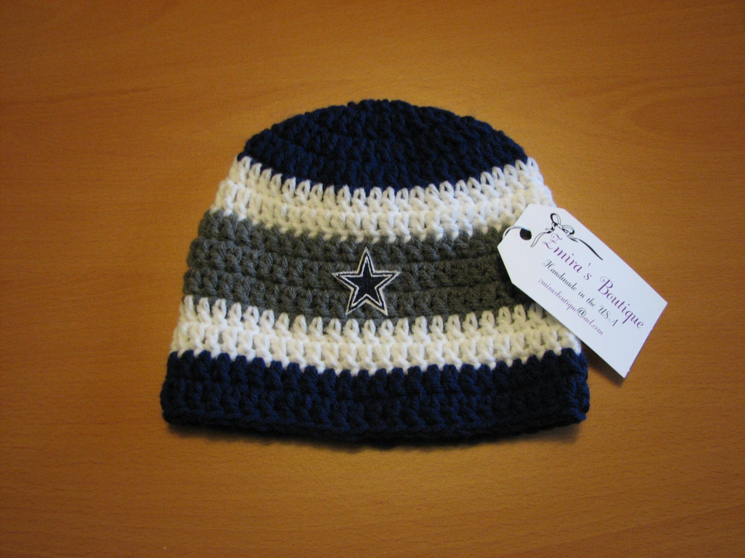 Dallas Cowboys Crochet Baby Hat Pattern : Unavailable Listing on Etsy