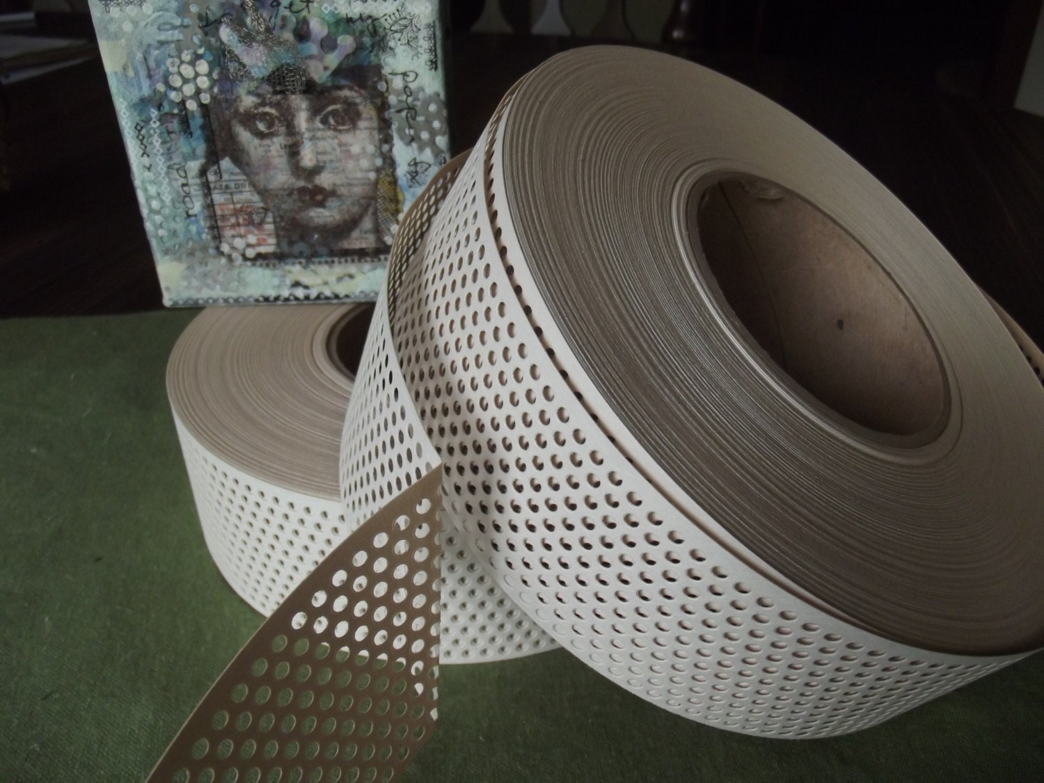 How Use Paper Drywall Tape : Mixed media joint tape self adhesive paper by