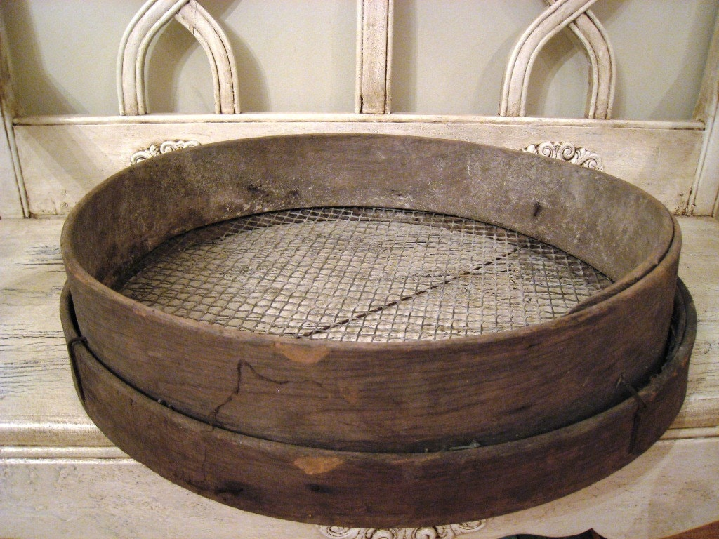 1000 Images About Antique Sieves On Pinterest Grains