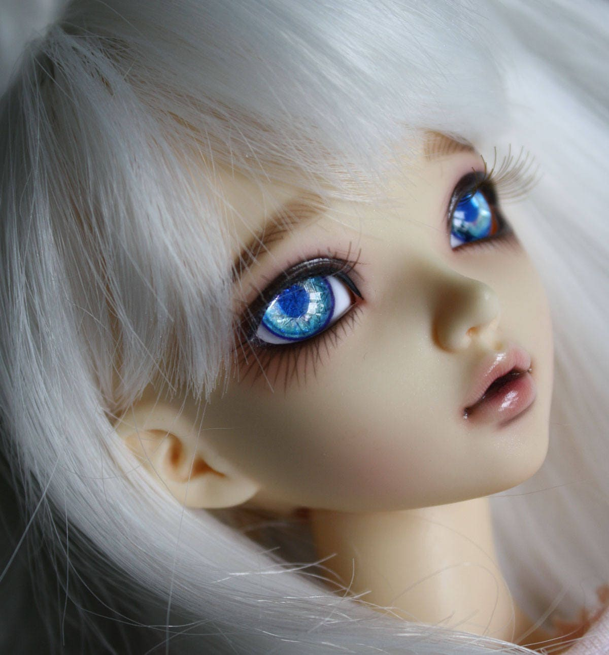 BJD eyes Doll eyes Hand made available in 12141618202224mm Violet Kaluha made to order