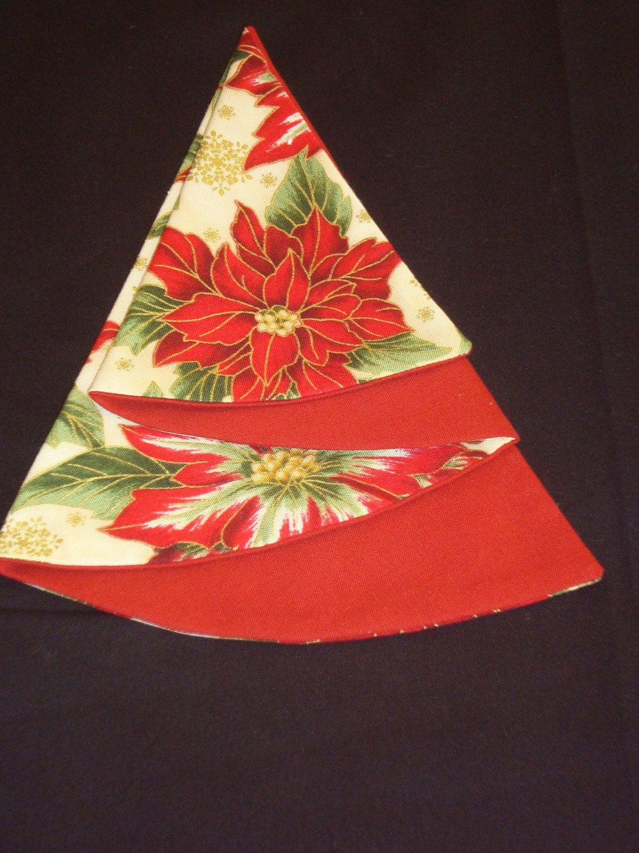 christmas tree napkins instructions