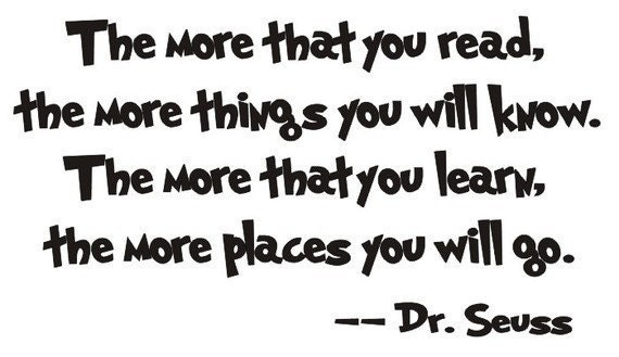Dr. Seuss quote: