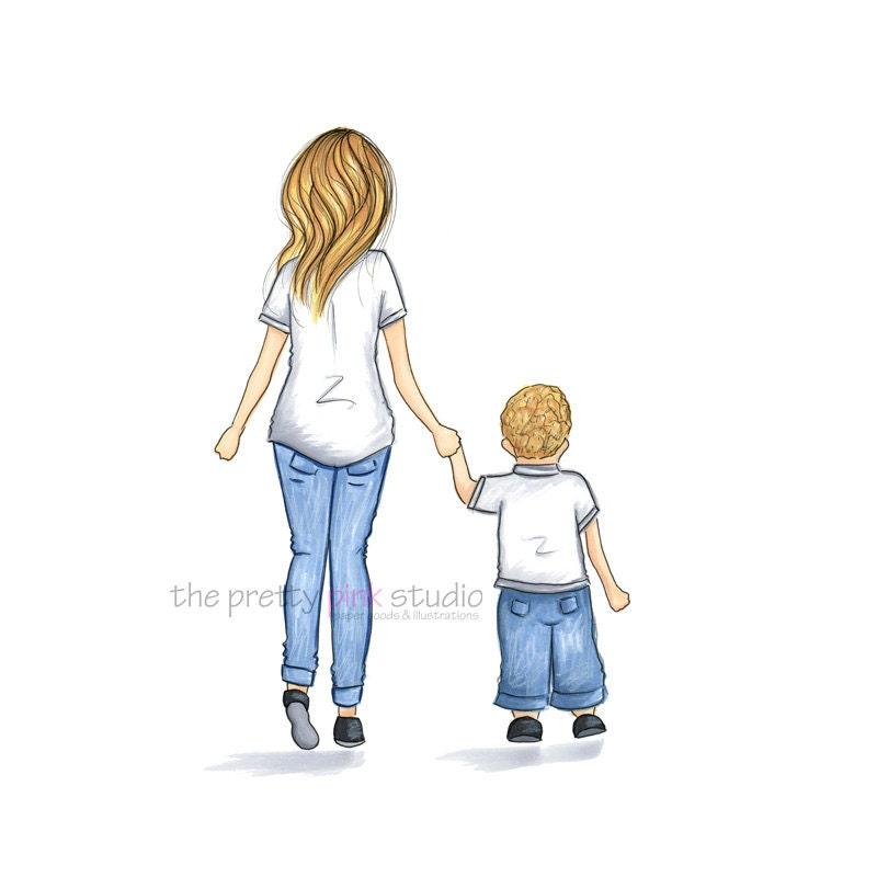 Moms and son рисунки 153