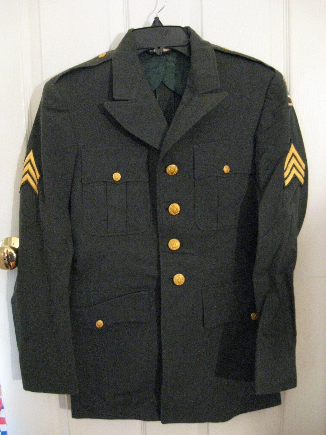 Army Dress Uniform Green 74