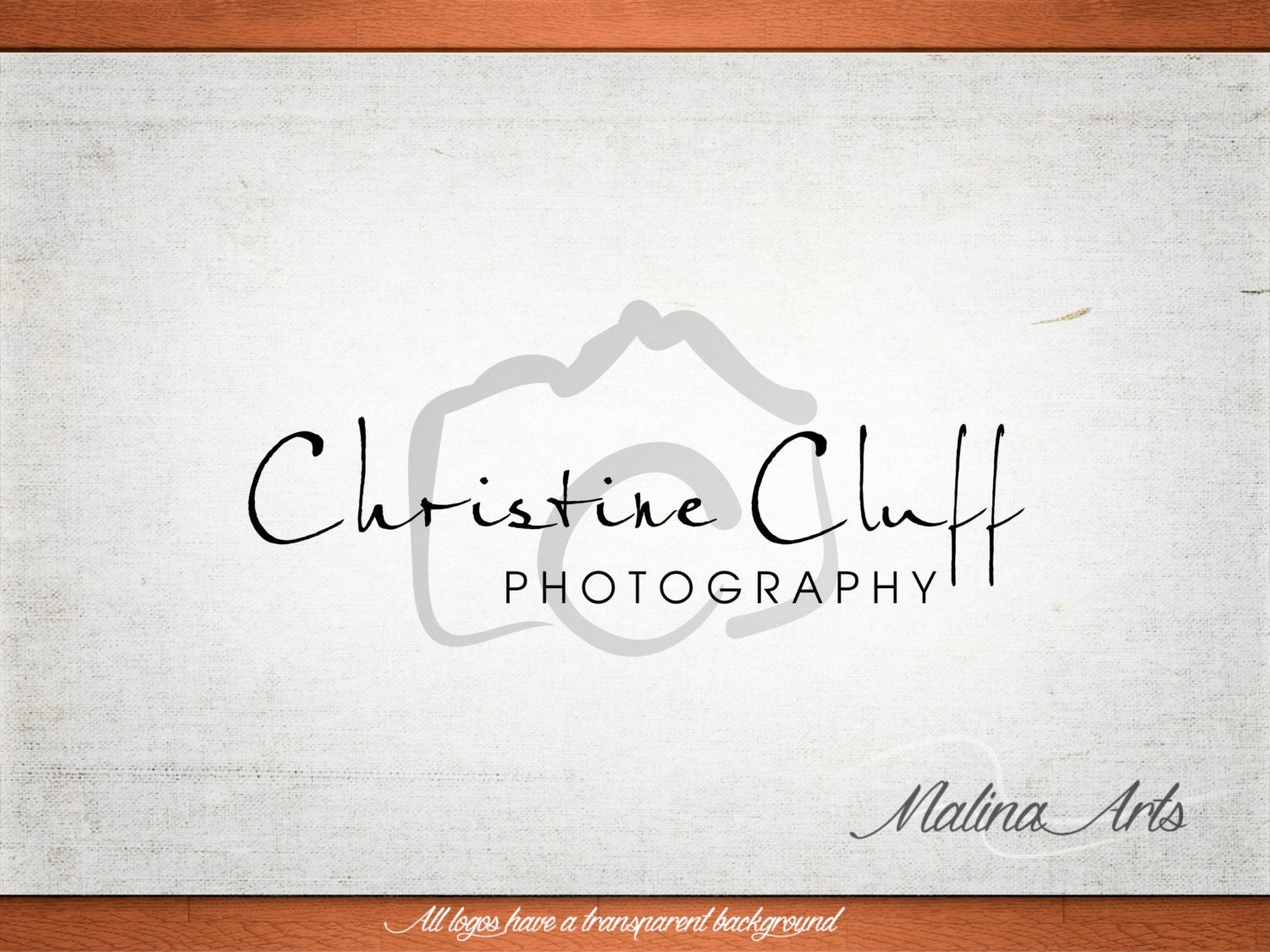Cached Watermark designs for photos