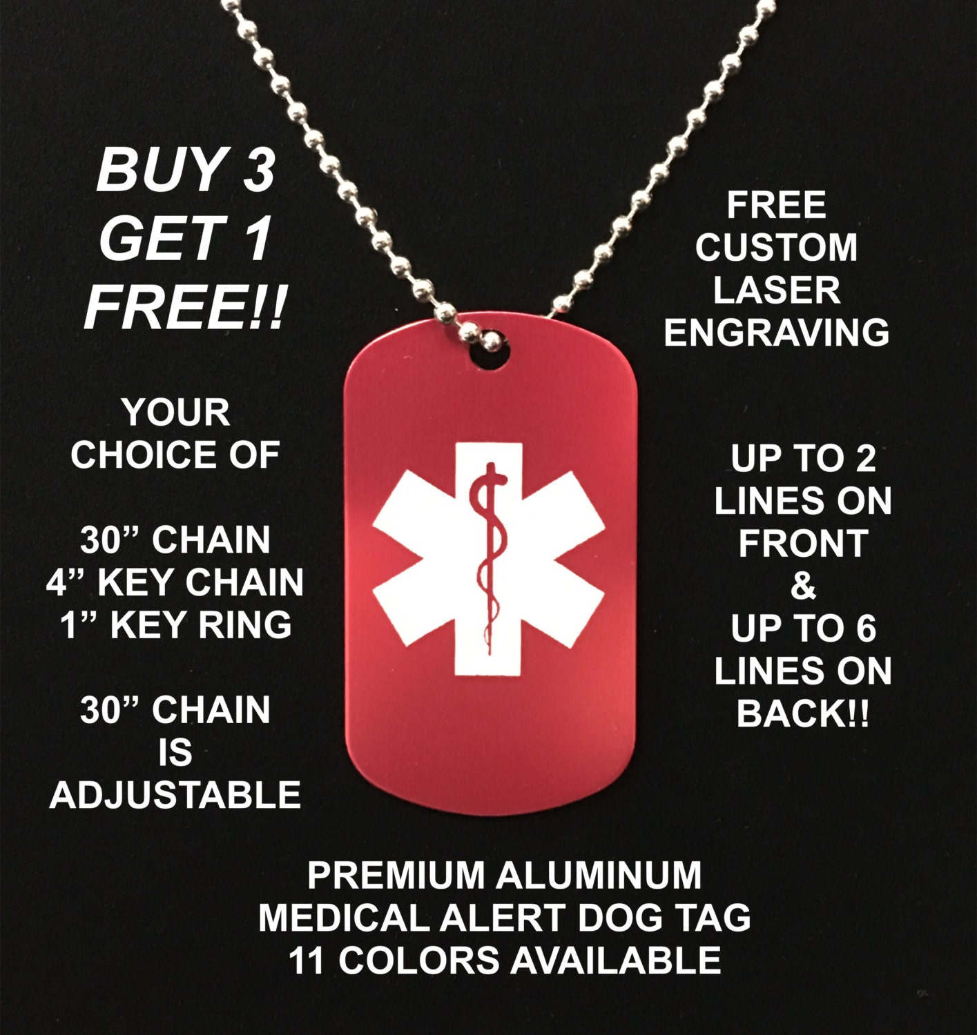 medical id tags military dog tags generator