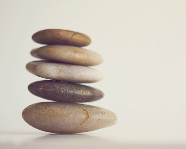 neutral, beige, nature, rocks, brown, 5x7, photograph, minimalist, zen