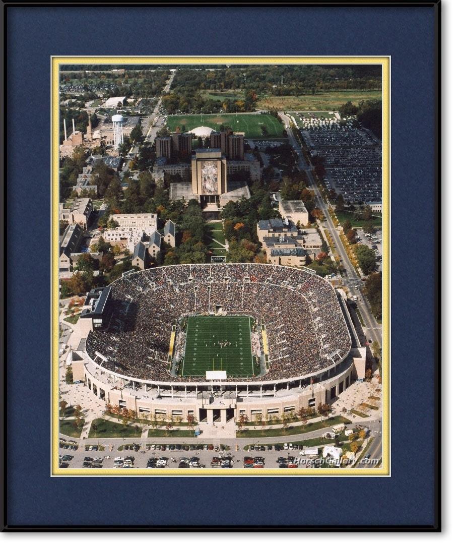 Items Similar To Notre Dame Stadium Photograph Print