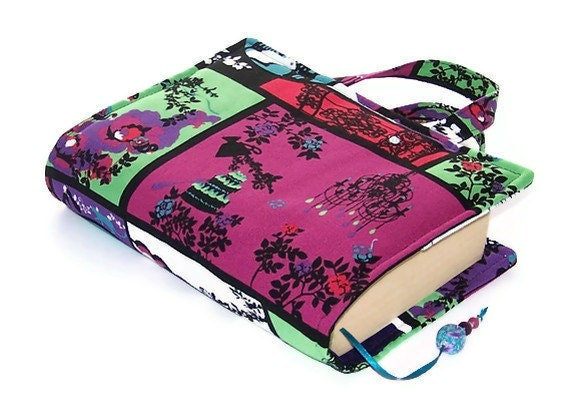 Book Cover Bag Grown Up Fairy Tale Purple by WhimsyWooDesigns ...