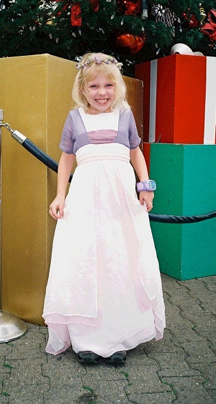 SILK Titanic Swim Dress CHILD Size by AriaCouture on Etsy