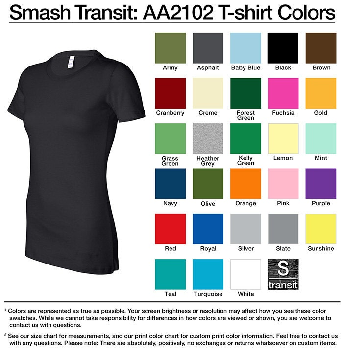 American Apparel 2102 Women 39 S T Shirt Any Design By