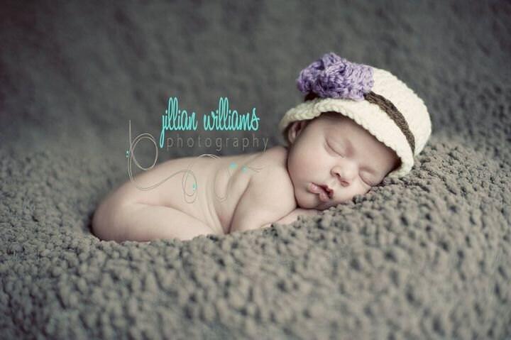 Hat pattern tea party bucket hat crochet pattern baby hat pattern