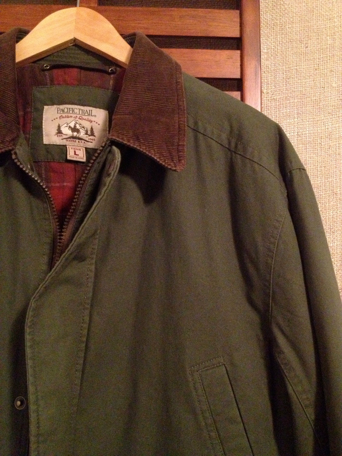 90s Pacific Trail Men S L Barn Chore Jacket By Nirvanavintage