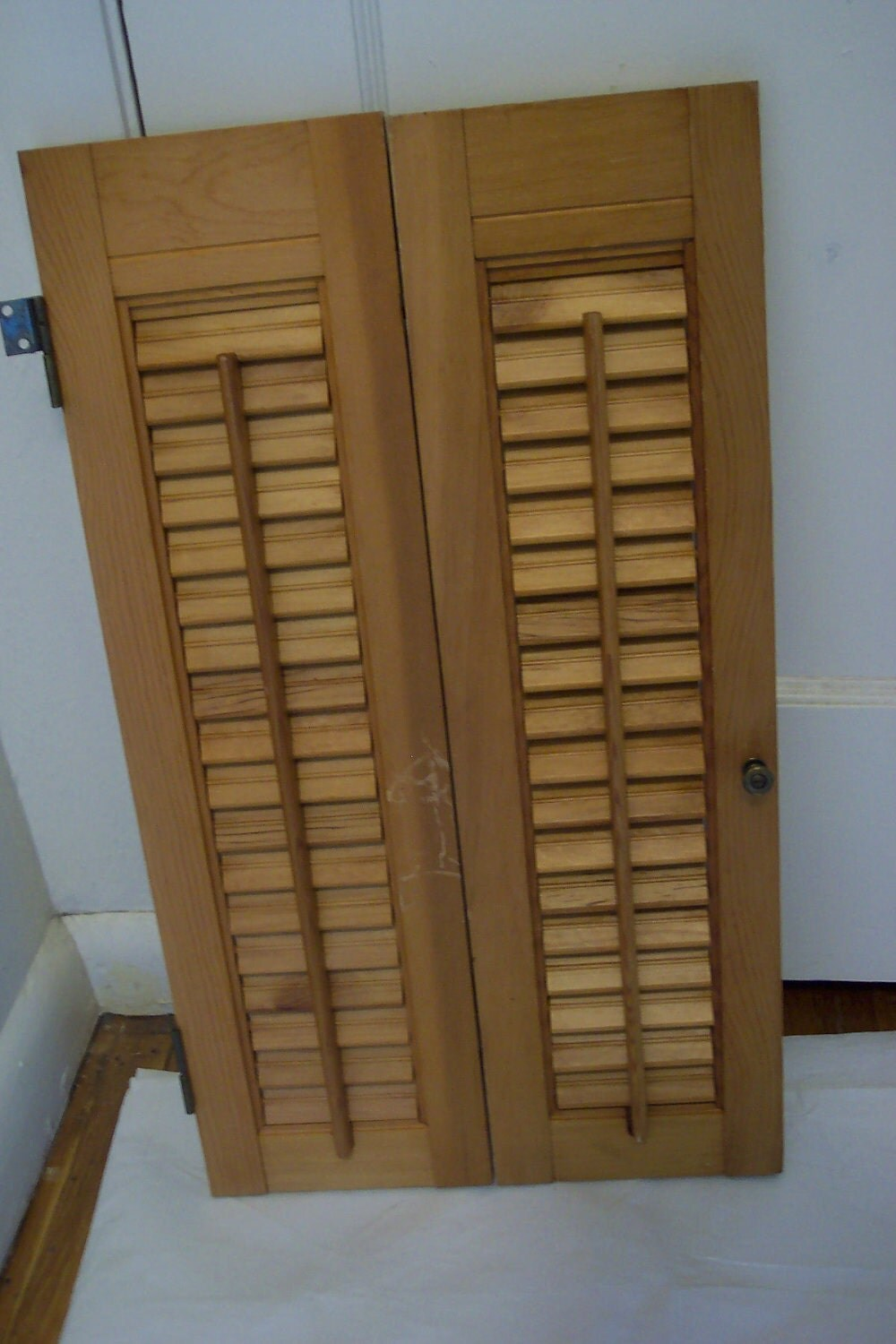 Shutters Wood Shutters Louvered Shutters Natural By Luruuniques