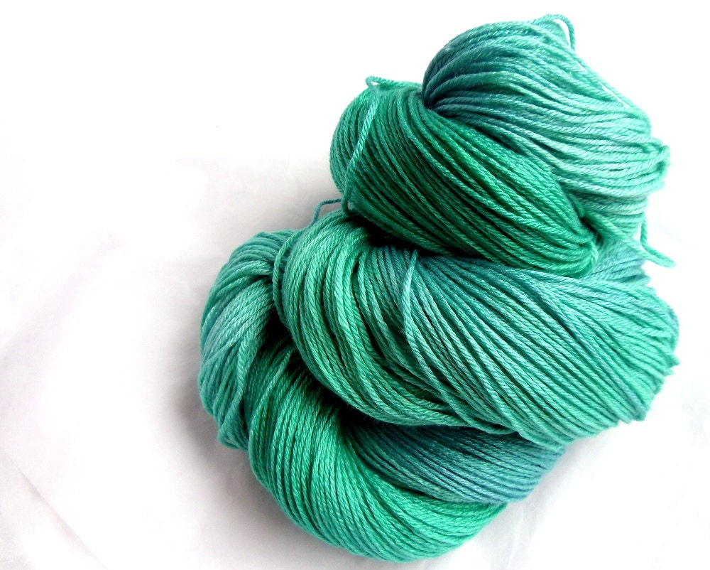 Luxury Sock Yarn, Hand Dyed Yarn, Merino Wool, Silk, Knitting Wool ...