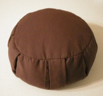 Brown Zafu Meditation Cushion
