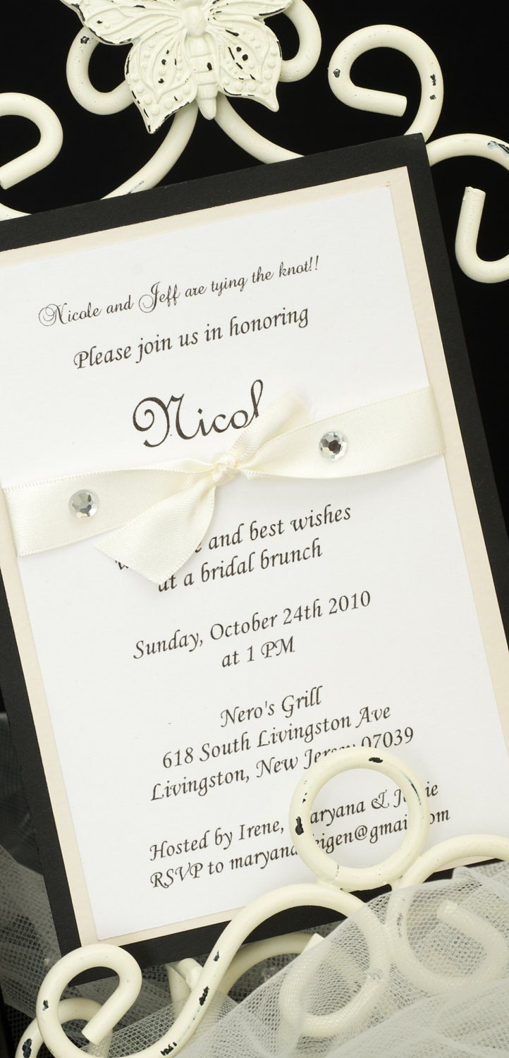 Tying the Knot Bridal Shower Invitation