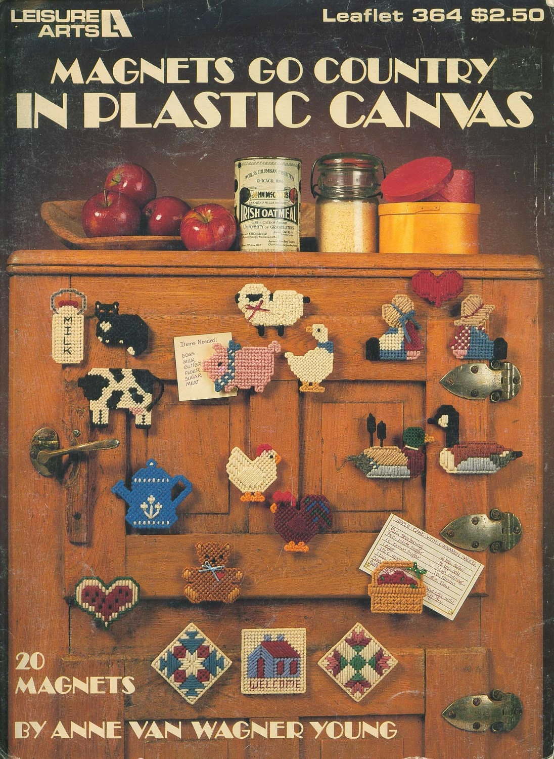 Magnets Go Country in Plastic Canvas, leaflet 364 from Leisure Arts - MastersCreations