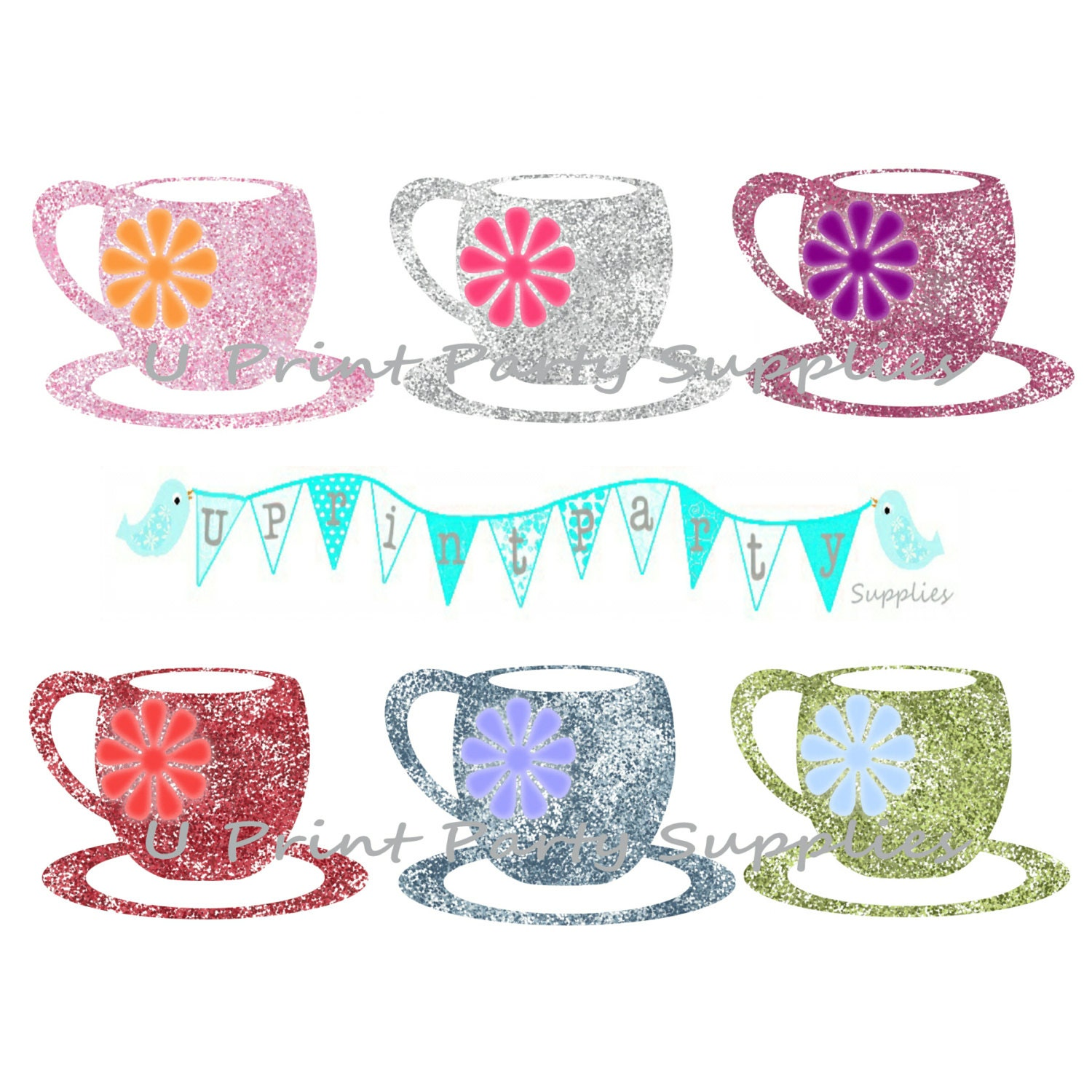 This is a photo of Magic Tea Party Clip Art
