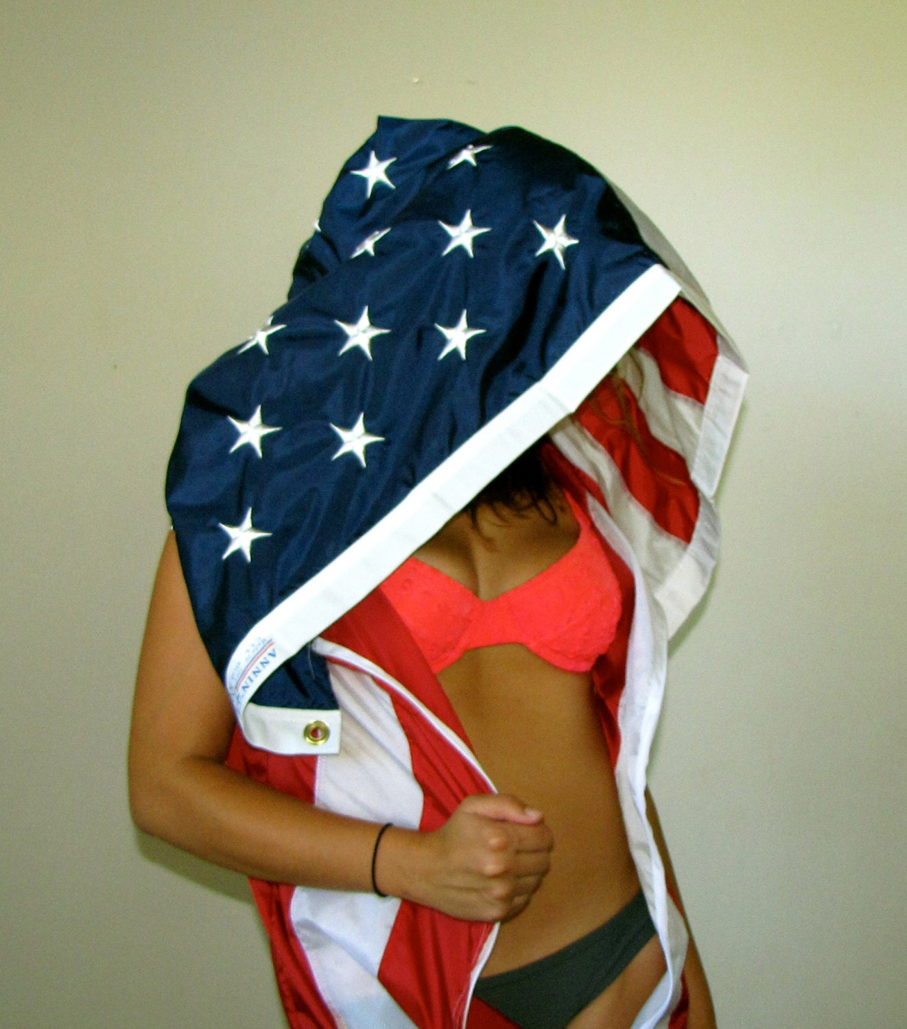 Luxe Junkie American Flag Cami