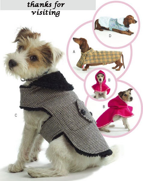 Modern Free Small Dog Clothes Sewing Patterns Pictures - Easy Scarf ...