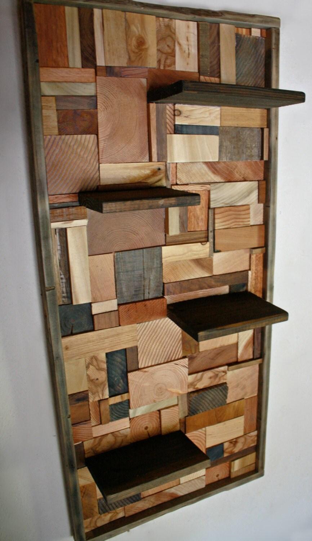 Hardwood wall shelves online